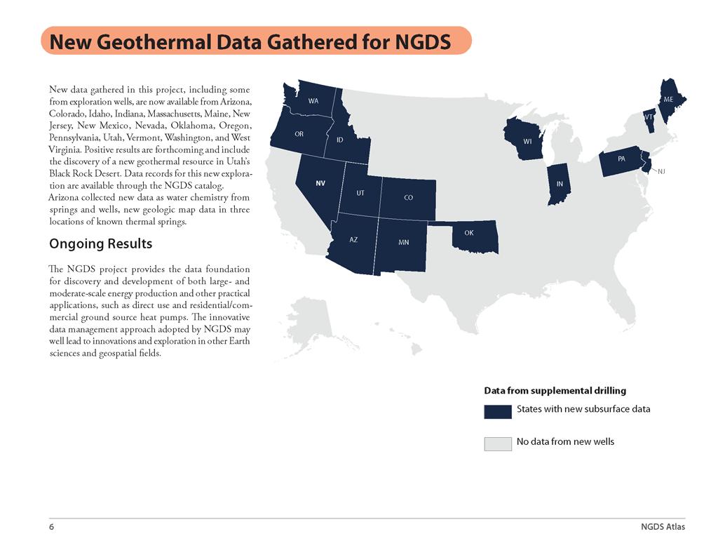 National Geothermal Data System (NGDS) Atlas | U S
